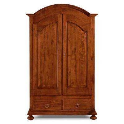 2-ajtós ruhásszekrény 2 fiókkal