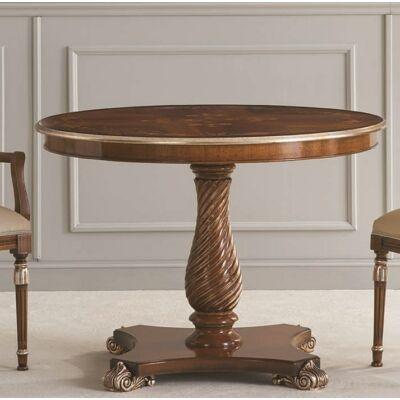 Vanity intarziás étkezőasztal, hosszabbítható