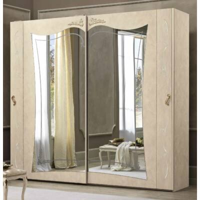 2 tükrös tolóajtós szekrény Swarovski kristályok nélkül