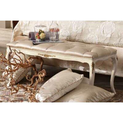 Kárpitozott ülőpad Swarovski kristályok nélkül
