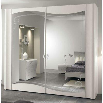 2 tükrös komplanáris tolóajtós szekrény Swarovski kristályok nélkül