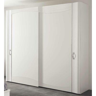 2 fa tolóajtós szekrény Swarovski kristályok nélkül, magasság: 225 cm