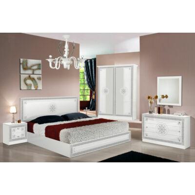TL Luna hálószoba - fehér-ezüst