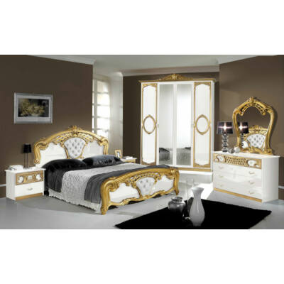 TL Sibilla hálószoba - fehér-arany